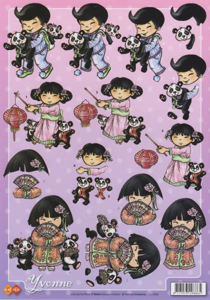 Yvonne Creations knipvel kinderen CD10095 (Locatie: 4236)