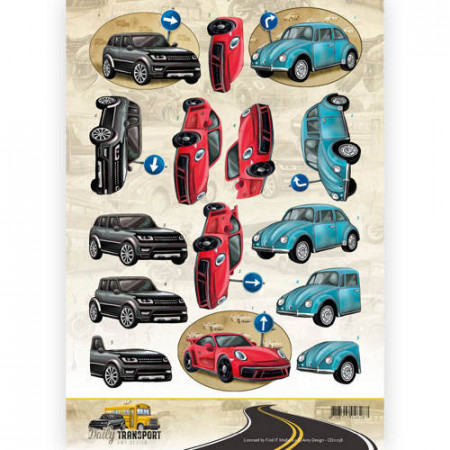 Amy Design knipvel auto's CD11038 (Locatie: 2924)