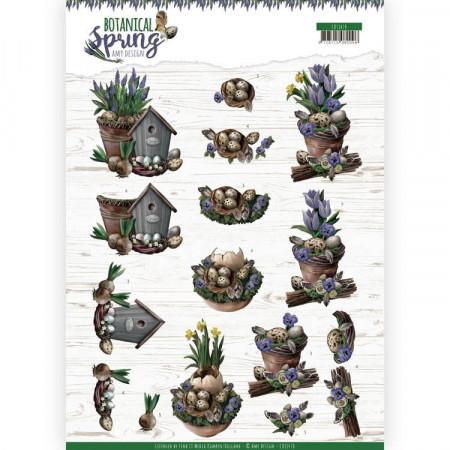 Amy Design knipvel Botanical Spring CD11470 (Locatie: 2668)