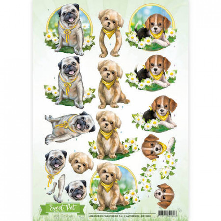 Amy Design knipvel honden CD10960 (Locatie: 0440)