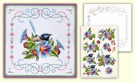 Ann's Paper Art bord.patr. + 3D vel + beschrijving 304 (Locatie: 5559)