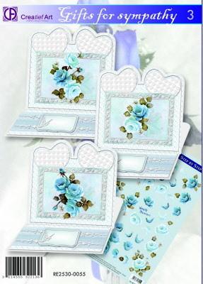 Creatief Art kaartenpakket Gifts for sympathy 3 RE2530-0055