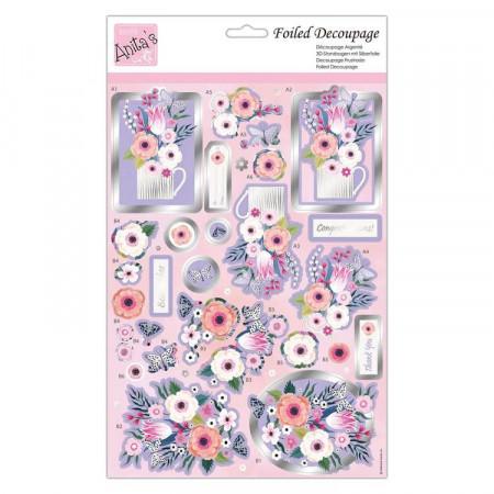 Docrafts Anita's stansvel bloemen ANT169925