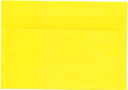 Envelop C6 geel (Locatie: k3)