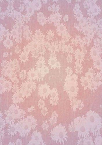 Hobby Idee achtergrondpapier roze/bloemen HI-3094 (Locatie: 2764)