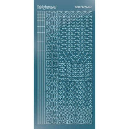 Hobbydots stickervel glanzend ijs STDM125 (Locatie: N261)