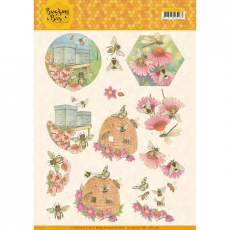 Jeanine's Art knipvel bijen CD11338 (Locatie: 4621)