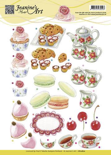 Jeanine's Art knipvel High Tea CD10820 (Locatie: 1577)