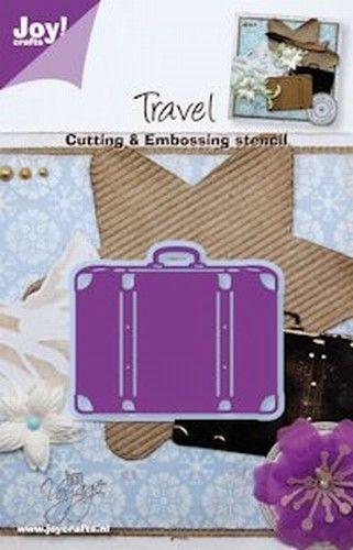 Joy! Crafts snij- en embosstencil koffer 6002/0282 (Locatie: K257 )