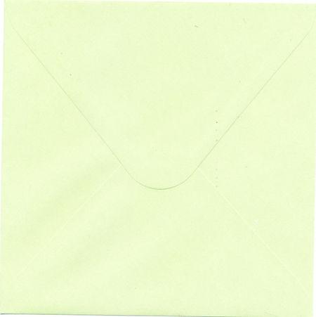 Le Suh envelop groen 17x17 cm 110 gr. per stuk 410795 (Locatie: K3)