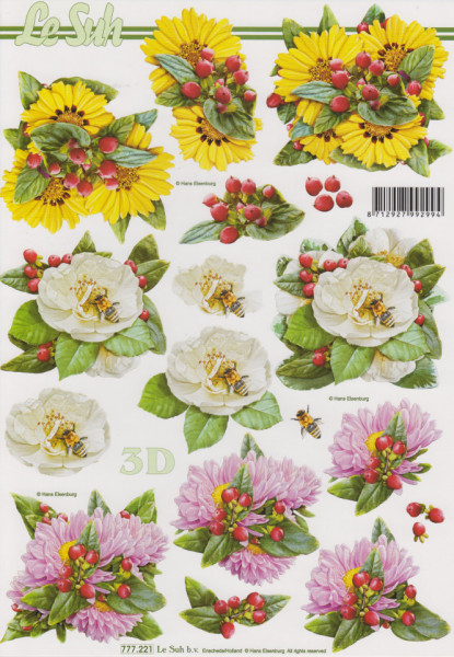 Le Suh knipvel bloemen 777221 (Locatie: 1568)