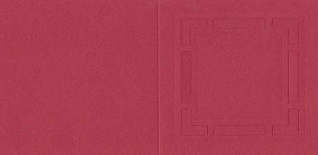 Romak vierkante kaart rood K2-268-23 (Locatie: nn065)