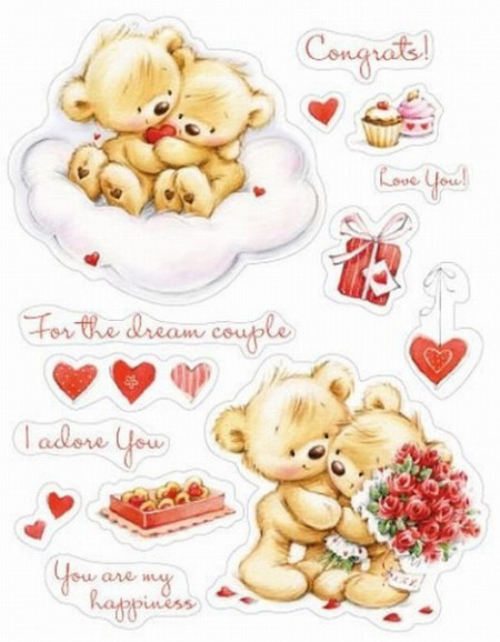 Scrapberry's Clear Stamp My Little Bear SCB071202b (Locatie: nn215)