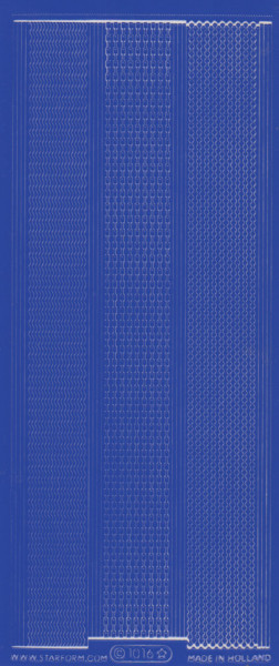 Starform stickervel donkerblauw 1016 (Locatie: ZZ109 )
