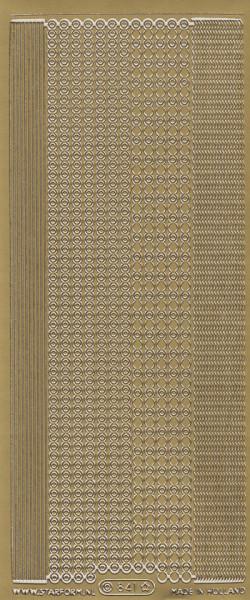 Starform stickervel goud 841 (Locatie: zz118)