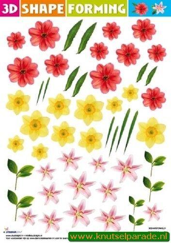 Studio Light Shape Forming bloemen 3DSHAPEFORMSL21 (Locatie: 121)