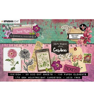 Studio Light stansblok A6 Just Lou Botanical A6STANSBLOKJL02