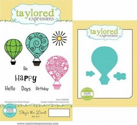 Taylored Expressions rubberen stempels & mallen TEPS44 (Locatie: 4RS5 )