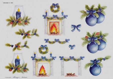 Wekabo knipvel kerst 566 (Locatie: 0629)