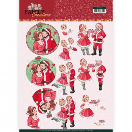 Yvonne Creations knipvel kerstmis CD11387 (Locatie: 2453)