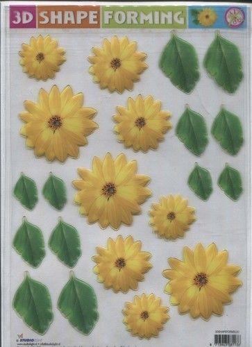 3D Shape Forming bloemen 3Dshapeforms50 (Locatie: 233)