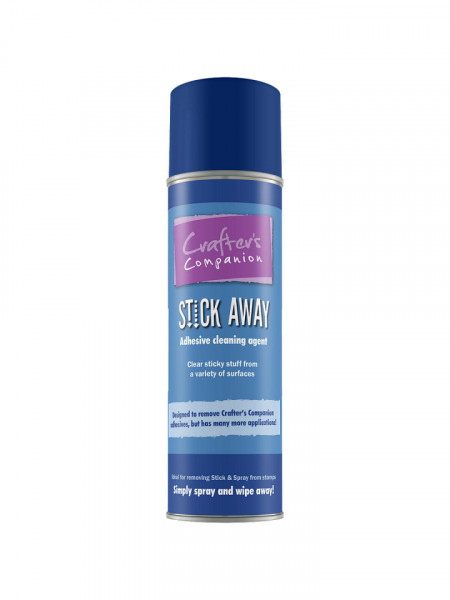 Crafter's Companion Stick Away Spray adhesive cleaning agent 250 ml. 43271 (Locatie: S2)