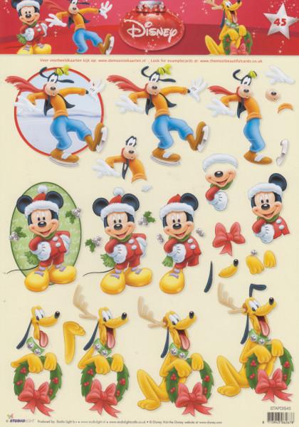 Disney knipvel kerstmis STAPDIS45 (Locatie: 2535)
