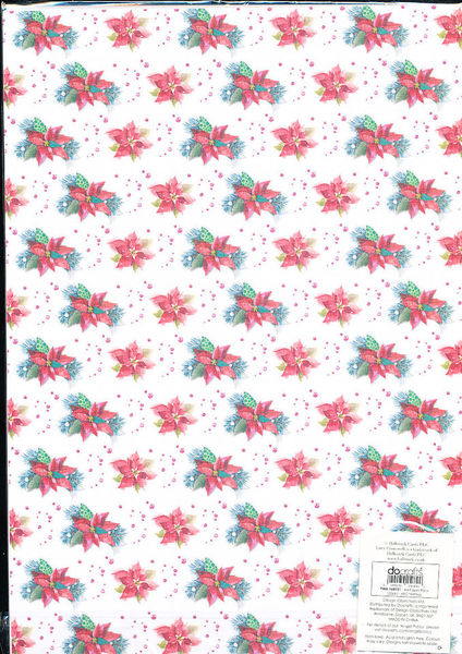 DoCrafts Papermania A4 Paperpack Christmas PMA160151 (Locatie: 1RC7)
