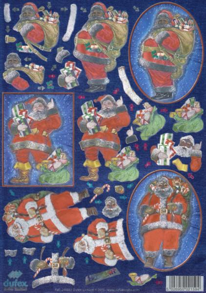 Dufex metallic stansvel kerstmis 11-179-847 (Locatie: 0713)