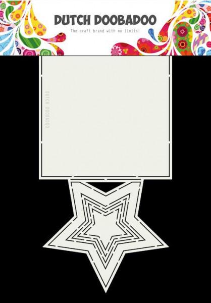 Dutch Doobadoo Card Art ster stencil A4 470.713.697 (Locatie: 1126)