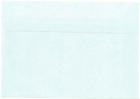 Envelop C6 lichtblauw (Locatie: K3)