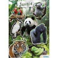 Herma stickers magic jungle prismatic foil 1 vel 3711 (Locatie: HE009)