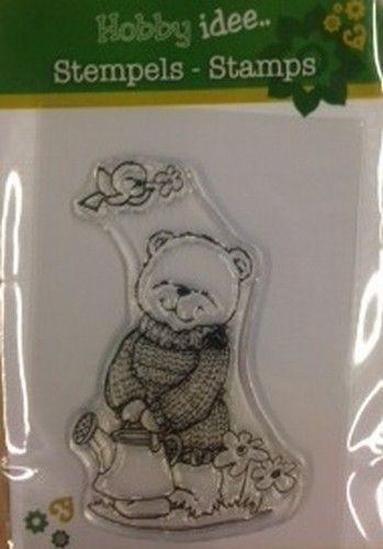 Hobby Idee 8 cm hoog clear stamp HI 0029 (Locatie: A370 )
