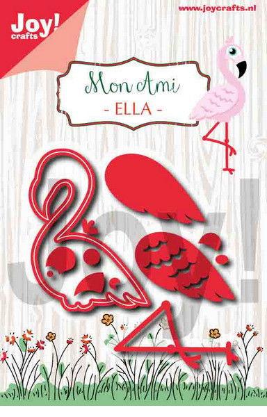 Joy!Crafts snij- en embosmal Flamingo 6002/1255 (Locatie: B297)