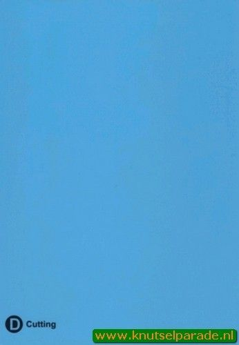 Joy Crafts Trouvaille plaat D blauw 6200 0913 (Locatie: )