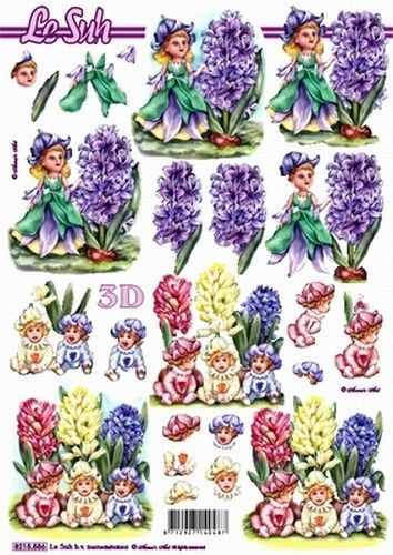 Le Suh knipvel bloemen 8215586 (Locatie: 5822)