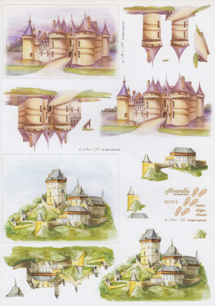 Le Suh knipvel kastelen 821512 (Locatie: 2706)