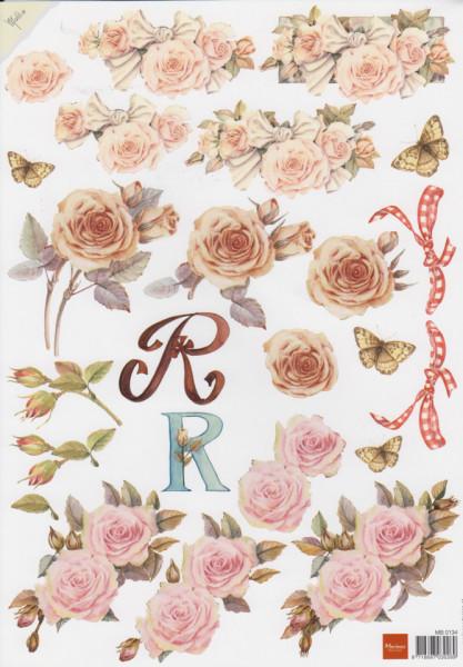 Marianne Design bloemen MB0134 (Locatie: 5626)