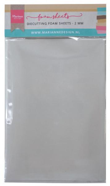 Marianne Design Diecutting foam sheets A5 - 2 mm dubbelzijdig klevend 5 vel LR0023 (Locatie: S1)