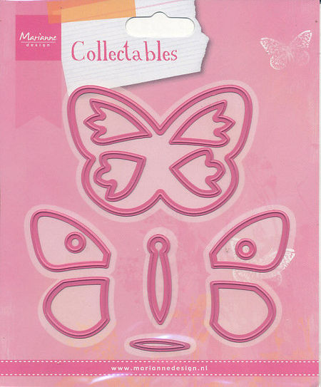 Marianne Design snij- en embosmal Collectables Vlinders COL1312 (Locatie: D148)