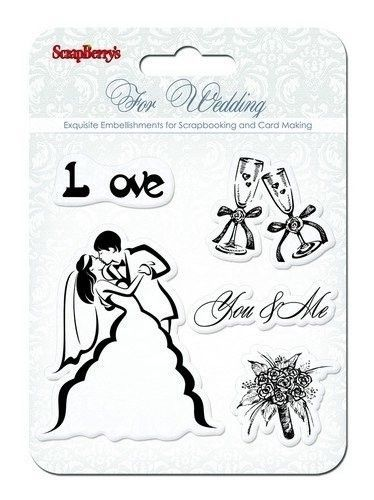 Scrapberry's clear stamp For Wedding SCB4901010b (Locatie: NN240 )
