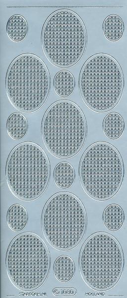 Starform stickervel zilver 1080 (Locatie: f132)