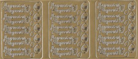 Stickervel met franse teksten (Locatie: A151)