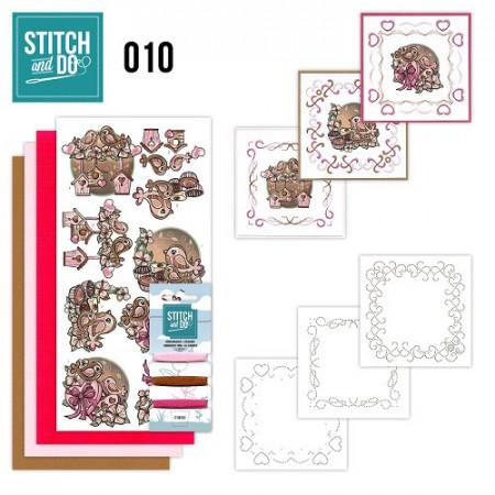 Stitch and Do 10 Moederdag STD0010
