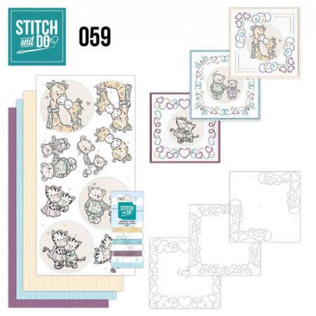 Stitch and Do 59 I love you STDO059