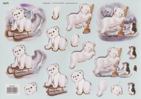 TBZ stansvel ijsbeer nr. 580500 (Locatie: 4809)