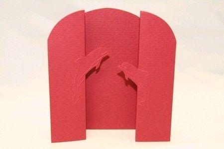 Van Dool, 3x rode kaart dolfijnen, 3x witte envelop (Locatie: GG086 )