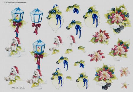 Wekabo knipvel kerstmis 726 (Locatie: 6003)