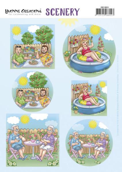 Yvonne Creations stansvel vakantie CDS10031 (Locatie: 0426)