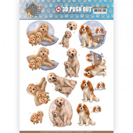 Amy Design stansvel honden SB10379 (Locatie: 1539)